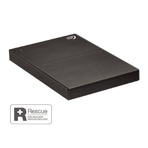 Seagate 2TB One Touch Portable HDD - Black