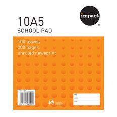 Impact Pad Refill 10A5 Plain 100 Leaf