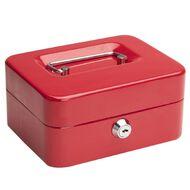 Impact Cash Box 6 inch Red