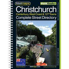 Pathfind Christchurch District Map