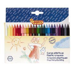 Jovi Plastic Crayons 24 Pack