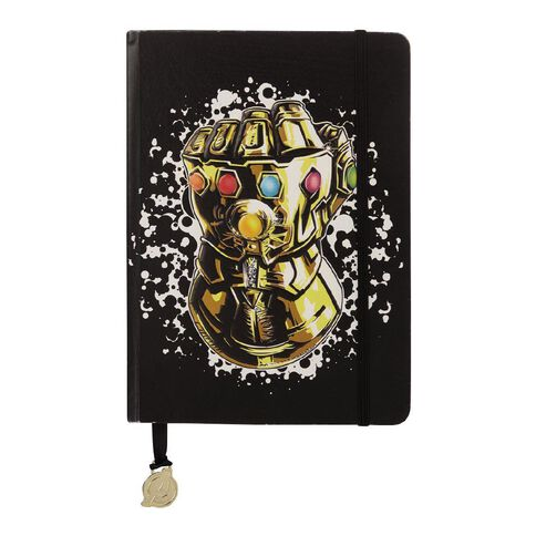Avengers Infinity War Gauntlet Premium Notebook A5