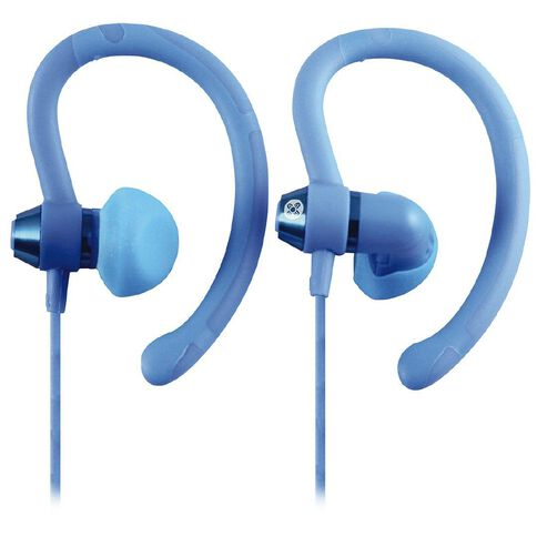 Moki Sports Earphones 90 Degrees Blue