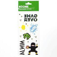 Kookie Ninja/Gaming Tattoos