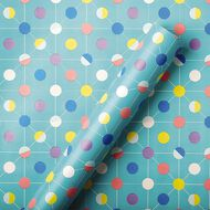 Artwrap Roll Wrap Value Birthday General 700mm x 3m Assorted