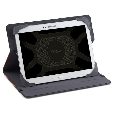 Targus Fit-N-Grip 9-10 Rotating Universal Tablet Case Red
