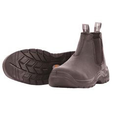 Bison Trade Slip-On Safety Boot With Steel Toecap Size 11