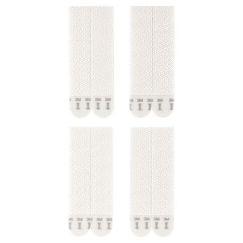 Command Large Picture Hanging Strips 4 Pack White