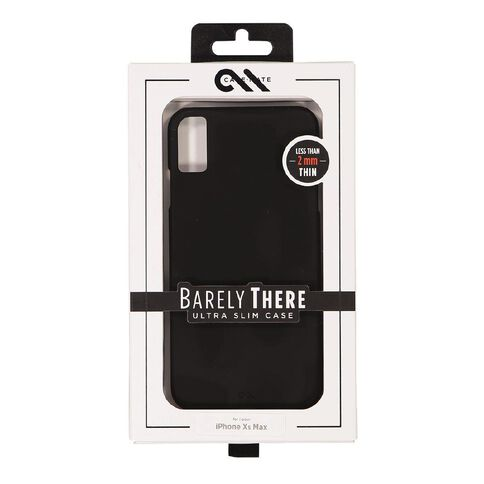 Casemate iphone XS Max Barely There Black