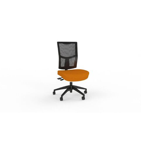 Chairmaster Urban Mesh Chair Sunset Orange Orange