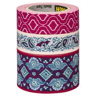 Scotch Washi Craft Tape Multipack Quatrefoil & Lace