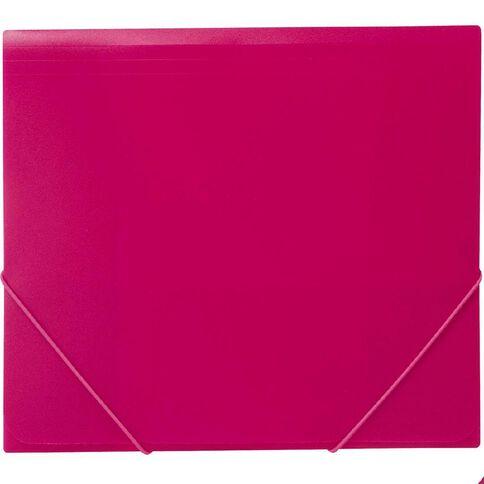 WS Wallet PP Elastic Pink A4