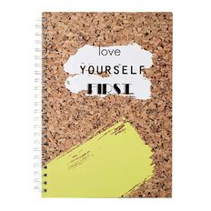 Uniti Fun & Funky Q3 Hardcover Spiral Notebook Make Today Amazing A4