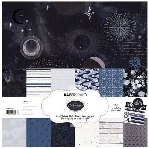 Kaisercraft Stargazer Paper Pack with Bonus Sticker Sheet