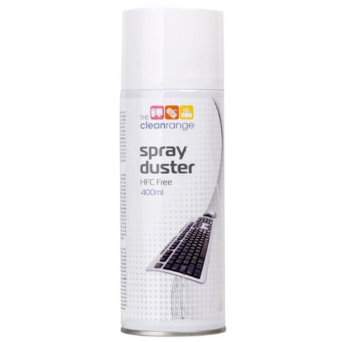 The Clean Range Spray Duster 400ml HFC Free White