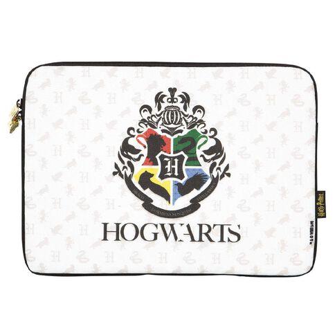 Harry Potter 14 inch Hogwarts Notebook Sleeve White