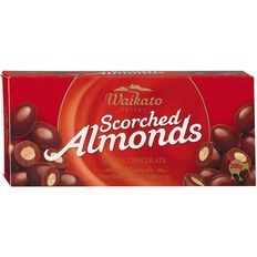 Waikato Valley Chocolates Milk Chocolate Scorched Almonds 200g