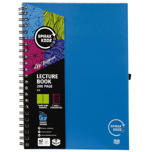 Spirax Lecture Kode P958 200 Page A4