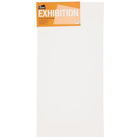 DAS 1.5 Exhibition Canvas 12 x 24in White