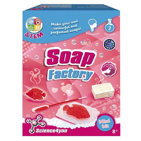 Science4u Mini Kit Soap Factory