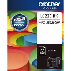 Brother Ink LC23E Black (2400 Pages)