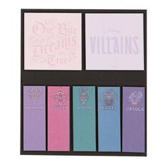 Disney Villains Sticky Notes Set 7 Pieces