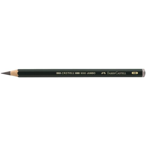 Faber-Castell Artist Grade 9000 Jumbo Pencil HB