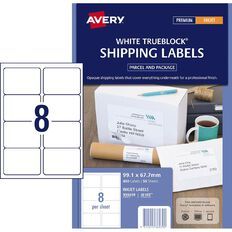 Avery Inkjet Labels J8165-8 Pack 50