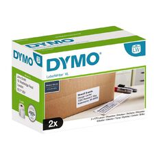 Dymo LabelWriter High Capacity Large Shipping Labels 59mm x 102mm