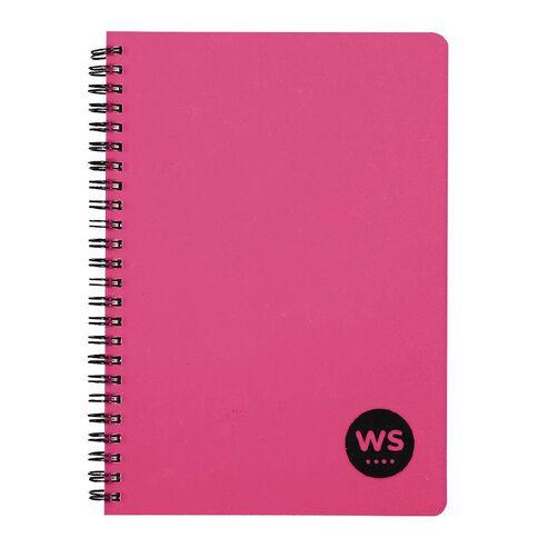 WS Notebook PP Wiro Pink A5