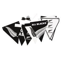 All Blacks Party Banner 3.6m