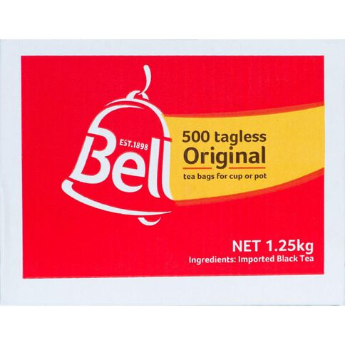 Bell Tea Bags Tagless 500 Pack