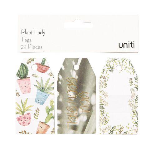 Uniti Plant Lady Tags 24pc