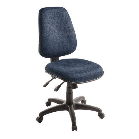 Eden Chorus 3 Lever Highback Ergonomic Chair Navy
