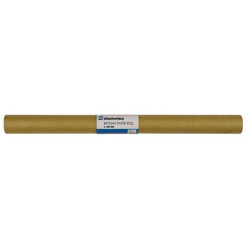 No Brand Brown Paper Roll 5m