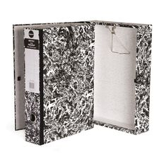 Impact Mottle Foolscap Box File