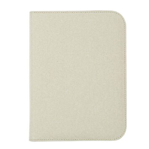 Uniti Blossom PU Zip Journal With Notepad Purple A5