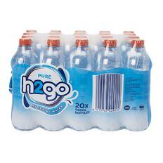 H2go NZ Spring Water 20x 600ml