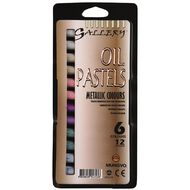 Mungyo Gallery Oil Pastels Metallics 12 Pack