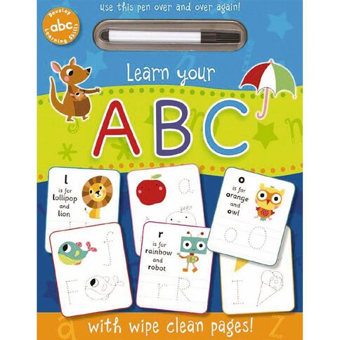 Wipe Clean: ABC