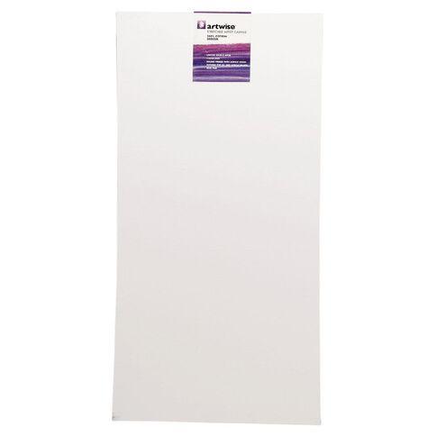 Uniti Blank Canvas 1 Piece 280GSM White 30cm x 60cm