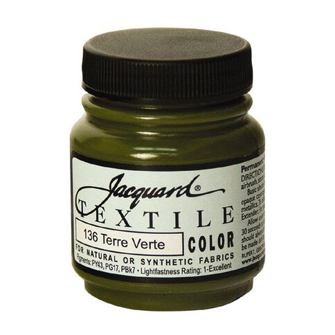 Jacquard Textile Colours 66.54ml Terre Verte