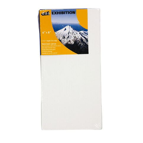 DAS 1.5 Exhibition Canvas 4 x 8in White
