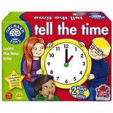 Orchard Toys Game Tell The Time