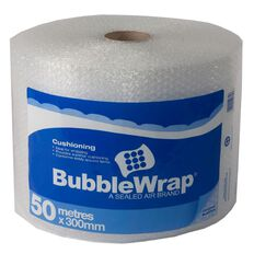 Bubble Wrap Roll 300mm x 50m Clear