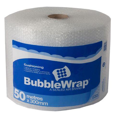 Bubble Wrap Roll 300mm x 50m Clear