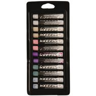 Mungyo Gallery Oil Pastels Metallics 12 Pack