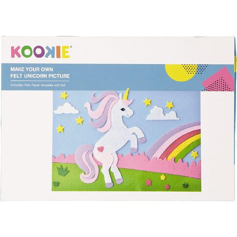 Kookie Make Your Own Unicorn Felt Picture Play Set
