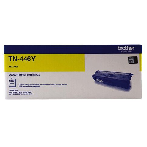 Brother Toner TN446Y Yellow (6500 Pages)