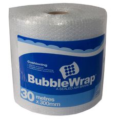 Bubble Wrap Roll 300mm x 30m Clear